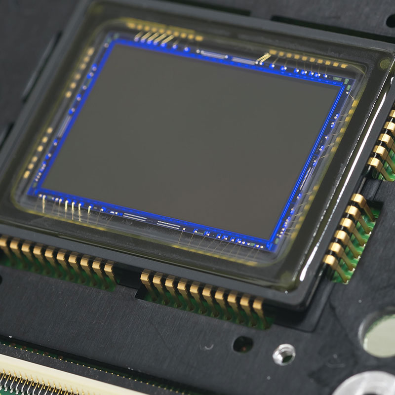 Open faced packaging used for image sensor and ROICs